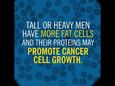 Tall Or Heavy Men At Higher Risk Of Prostate Cancer