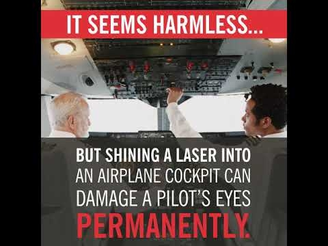 Why Tiny Laser Pointers Are A Big Problem For Pilots
