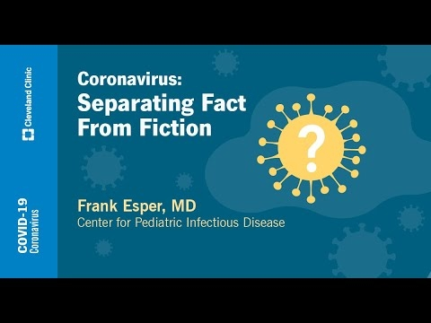 Coronavirus: Separating Fact from Fiction | Frank Esper, MD