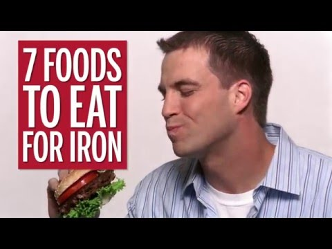 7 Foods to Eat for Iron