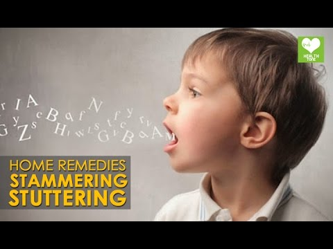 Home Remedy To Cure Stammering Stuttering