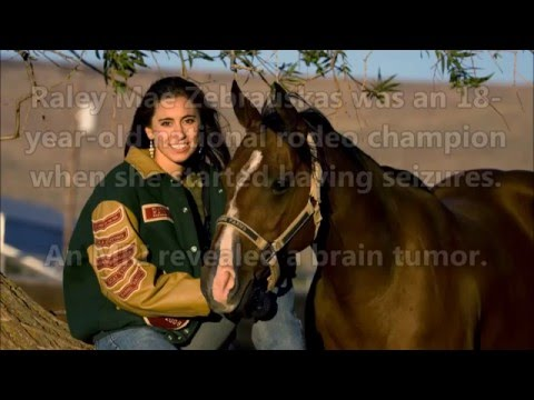 Rodeo Champion Shares Story of Hope After Brain Tumor Treatment