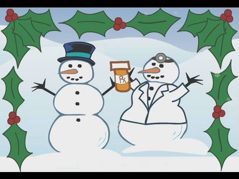 Deck Yourself with Flu Protection Holiday Song