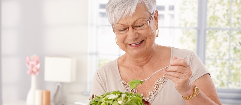 Eating Healthy Now for Old Age
